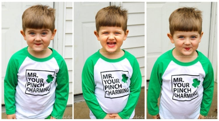 The Best Boy's St. Patrick's Day Shirt