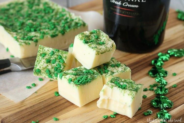 The Best Irish Cream Fudge Recipe
