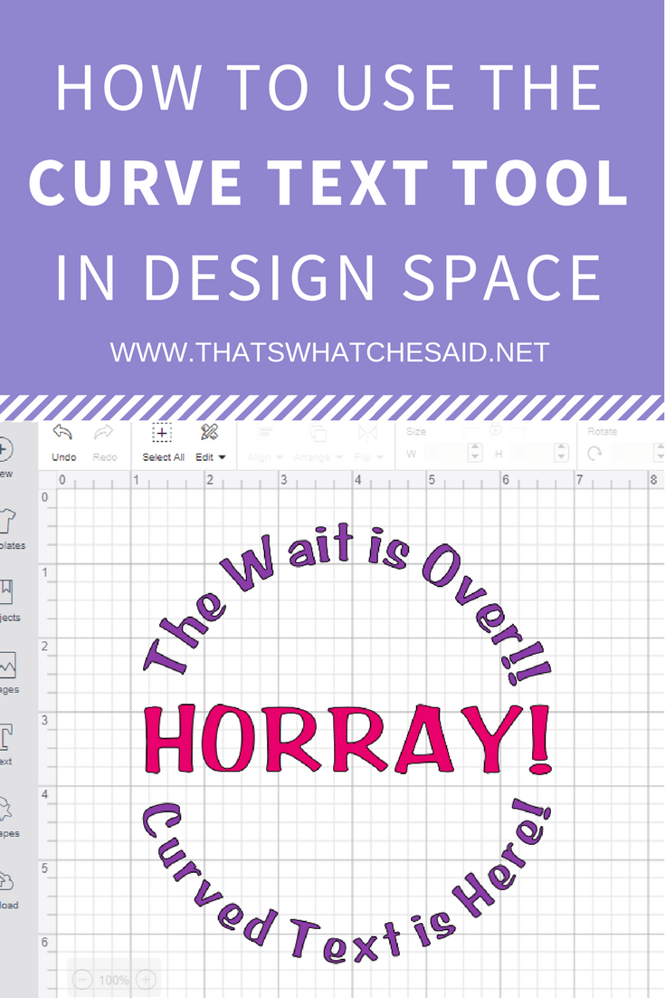 How To Curve Text In Cricut Design Space That S What