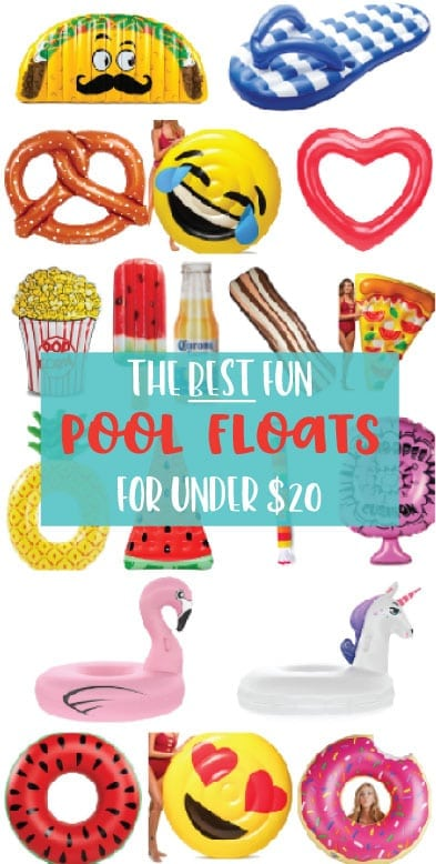 Pool Floats for under $20