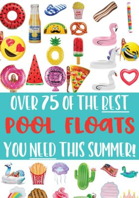 Awesome selection of pool floats for all budgets