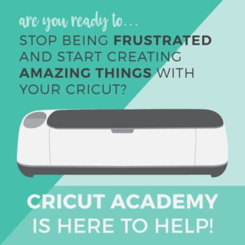 Cricut Academy Class Logo