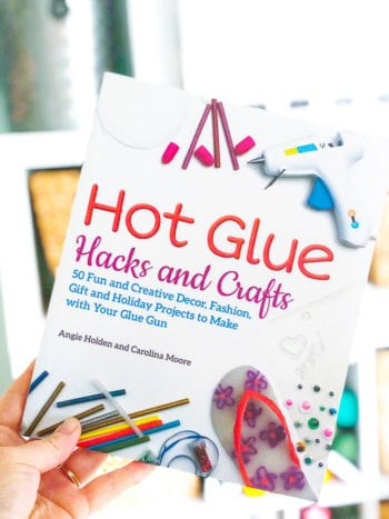 Photo of book Hot Glue Hacks and Crafts