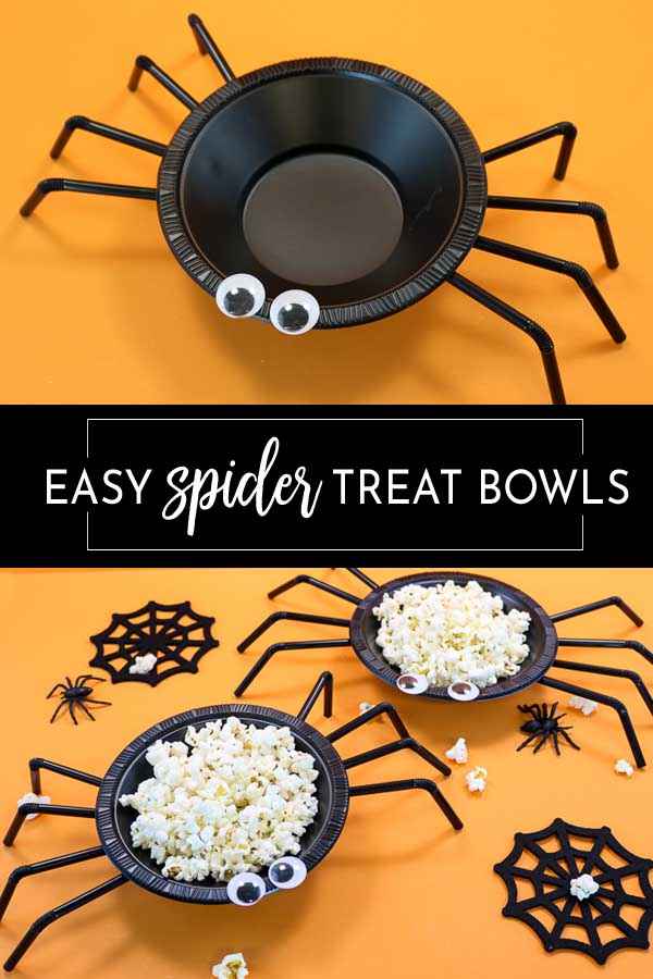 Halloween Spider Treat Bowl