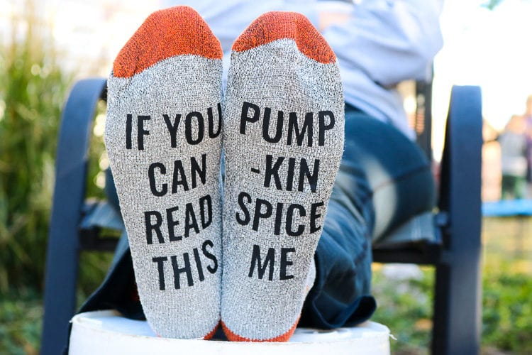 If you Can Read this, Pumpkin Spice Me