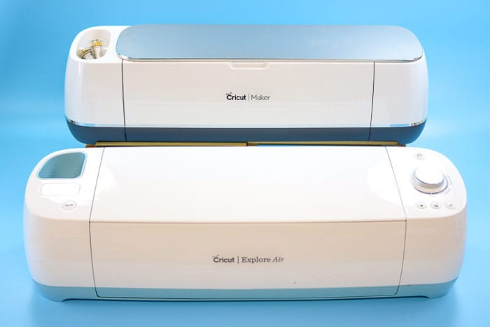 Cricut Explore Air & Cricut Maker Machines can both be used for this project