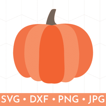 Clipart of Free Pumpkin Layered SVG File