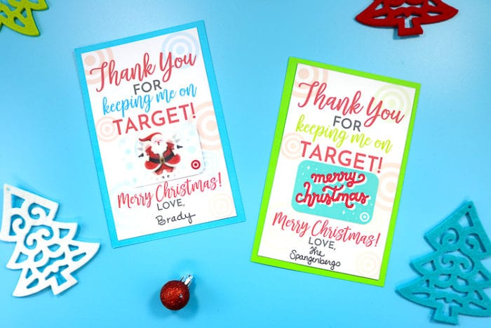 Free Printable For Gifting Target Gift Cards That S What Said