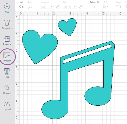 Screenshot of an image in Cricut Design Space