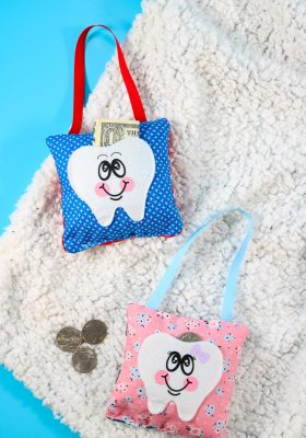 Easy Personalized Tooth Fairy Pillow