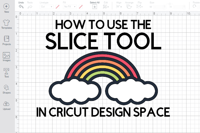 How to use the Slice Tool in Cricut Design Space