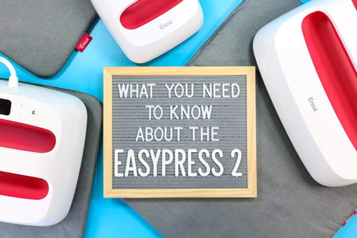 Three EasyPress 2 machines with a Felt board Title - What you need to know about the EasyPress 2