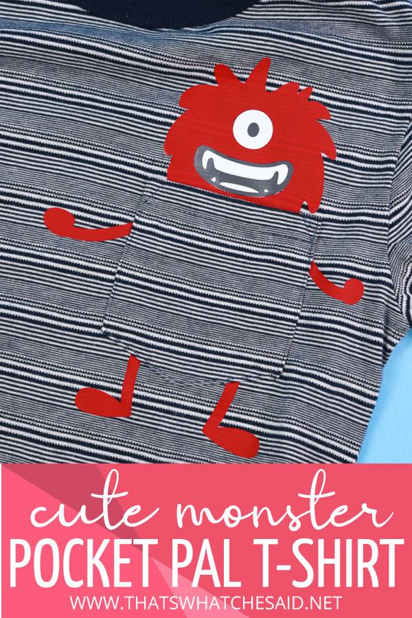 Monster Pocket Pal T-Shirt
