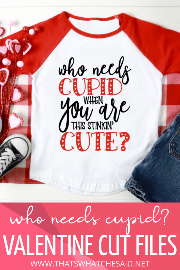 Download Cupid Valentine SVG - That's What {Che} Said...
