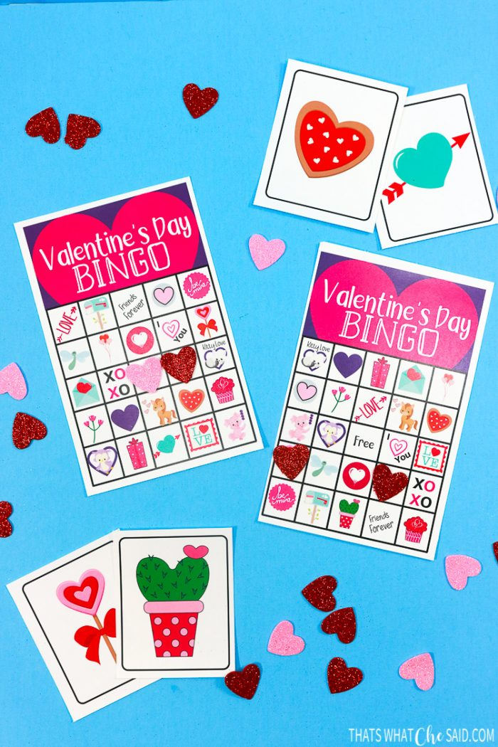 Valentine Bingo That S What Che Said