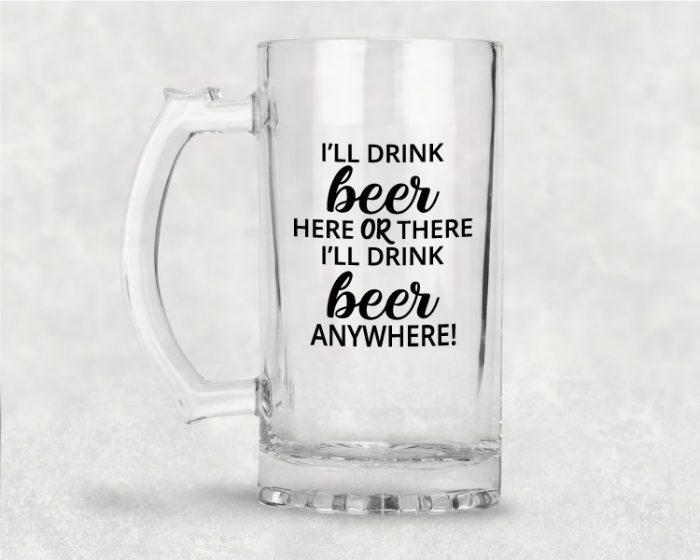 Dr. Suss Beer Mug