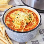 Square - Chicken Parm Instant Pot Soup
