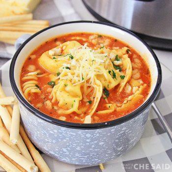 Square - Chicken Parm Instant Pot Soup