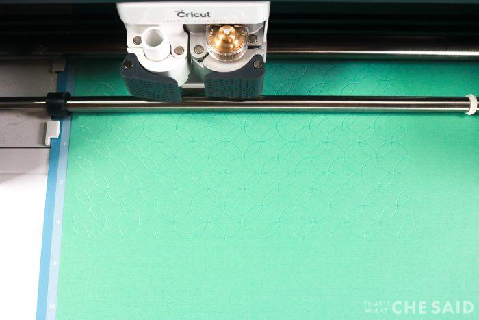 Cricut Maker Debossing Cardstock