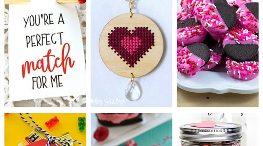 Easy Valentine GIft Ideas - Crafts and Recipes