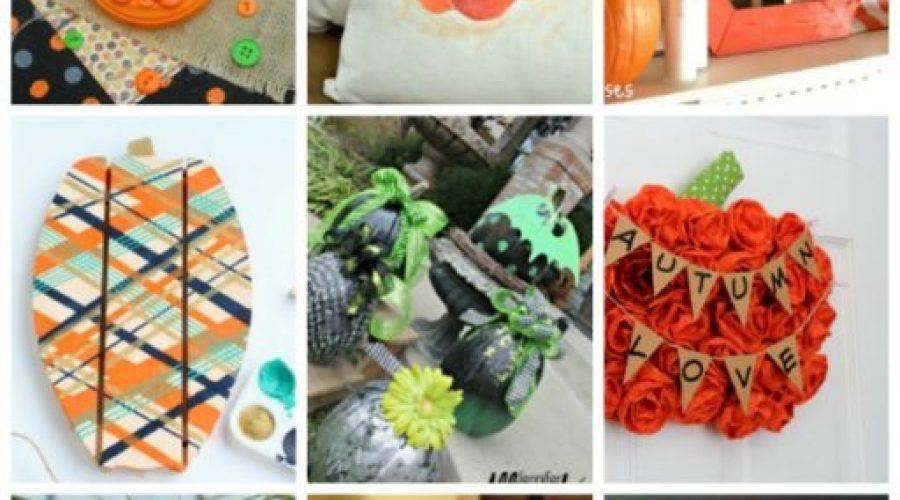 Fun and festive pumpkin crafts