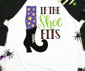 If The Shoe Fits Witch SVG