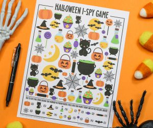 Halloween I-Spy Printable Activity