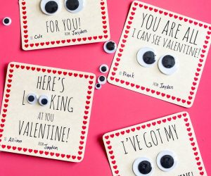 Google Eye Valentine Cards