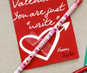 Just Write Printable Valentine Card