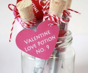 Love Potion Valentine Tags