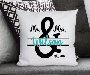 Mr. & Mrs. SVG File