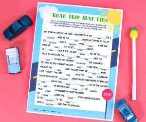 Road Trip Mad Lib