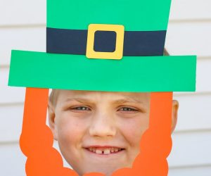 Paper Leprechaun Hat & Beard